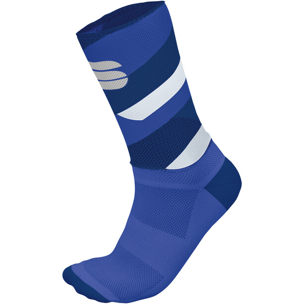 Sportful Bodyfit Team 15 Socken Herren blue twilight/dazzling blue/white