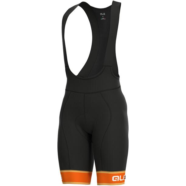 Alé Cycling Graphics PRR Sella Trägershorts Herren flou orange-white