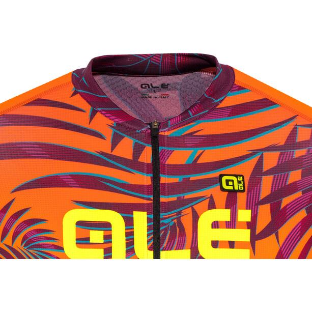 Alé Cycling Graphics PRR Sunset Cykeltrøje Herrer, orange/violet