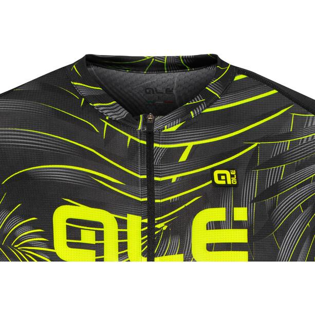Alé Cycling Graphics PRR Sunset Kurzarm Trikot Herren black-yellow flou