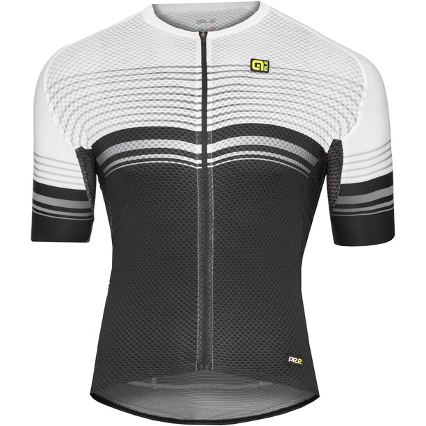 Alé Cycling Graphics PRR Slide Kurzarm Trikot Herren black-white