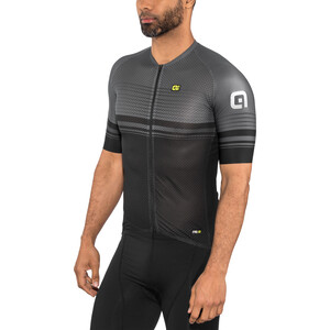 Alé Cycling Graphics PRR Slide Kurzarm Trikot Herren black-charcoal grey black-charcoal grey