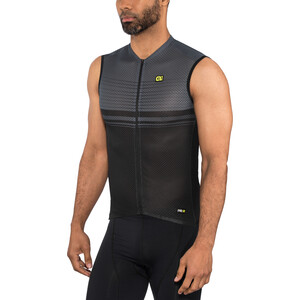 Alé Cycling Graphics PRR Slide Sleeveless Jersey Herre charcoal grey charcoal grey