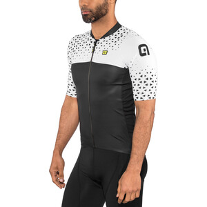 Alé Cycling Solid Climb Kurzarm Trikot Herren white-black white-black