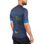 Alé Cycling Solid Ergo Kurzarm Trikot Herren blue-flou green