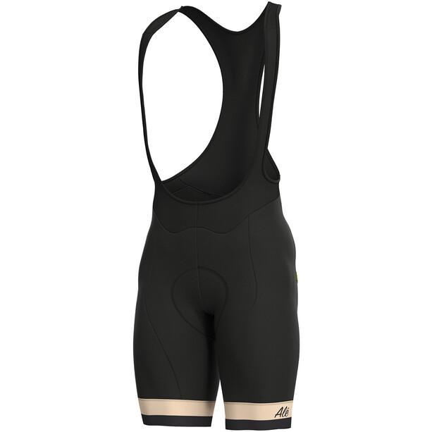 Alé Cycling Classic Vintage Trägershorts Herren black-beige