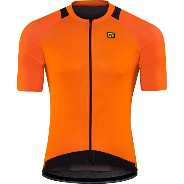 Alé Cycling Klimatik Klima Kurzarm Trikot Herren flou orange