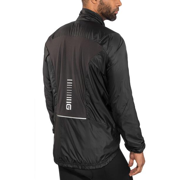 Alé Cycling Guscio Light Pack Jacke Herren black