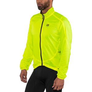 Alé Cycling Guscio Light Pack Jacke Herren flou yellow flou yellow