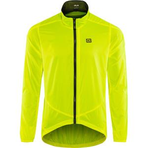 Alé Cycling Guscio Light Pack Jacke Herren flou yellow flou yellow