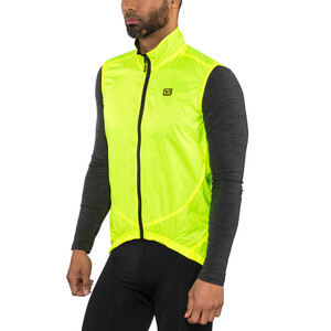 Alé Cycling Guscio Light Pack Vest Herrer, flou yellow flou yellow
