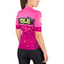 Alé Cycling PRS Ibisco Kurzarm Trikot Damen prune-flou pink