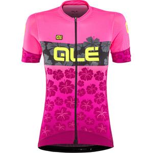 Alé Cycling PRS Ibisco Kurzarm Trikot Damen prune-flou pink prune-flou pink