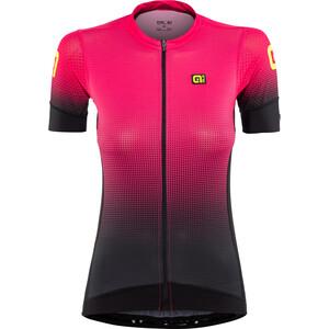 Alé Cycling PRS Dots Kurzarm Trikot Damen black-gerbera black-gerbera