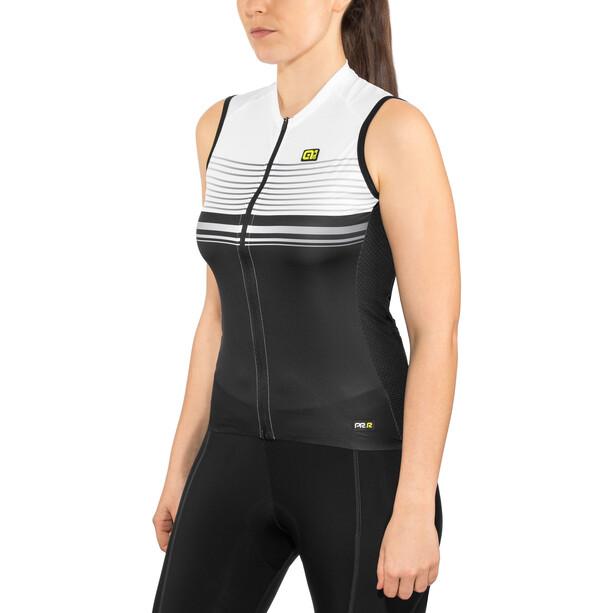 Alé Cycling Graphics PRR Slide Sleeveless Jersey Dame black-white