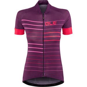 Alé Cycling Solid Ergo Kurzarm Trikot Damen purple-gerbera purple-gerbera
