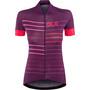 Alé Cycling Solid Ergo Kurzarm Trikot Damen purple-gerbera