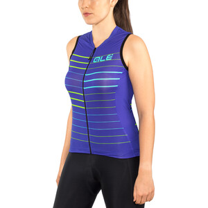 Alé Cycling Solid Ergo Ärmelloses Trikot Damen pure blue-turquoise pure blue-turquoise