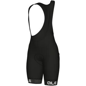 Alé Cycling Solid Traguardo Trägershorts Damen black-white black-white