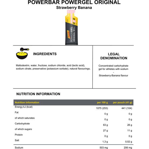 PowerBar Gels énergétiques Promotion 3+1 Gratuit x 41g