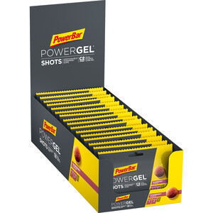 PowerBar PowerGel Shots Box 16 x 60g Raspberry