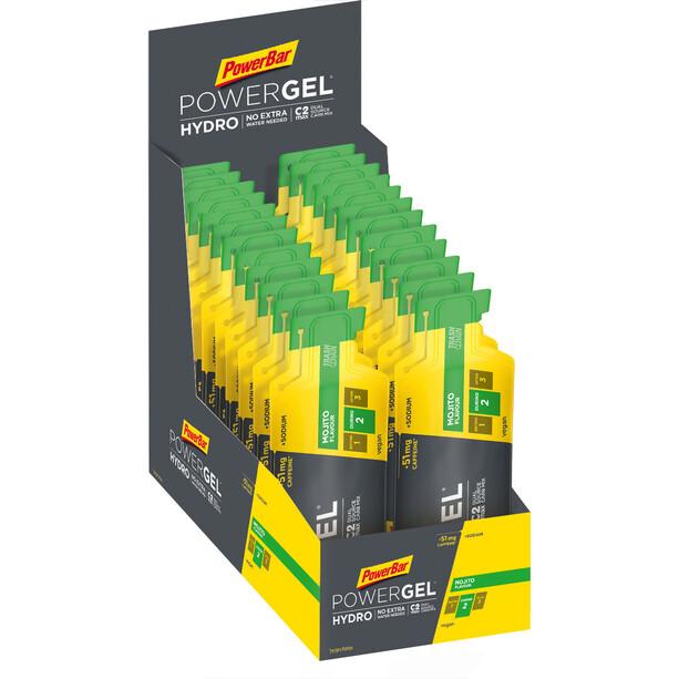 PowerBar PowerGel Hydro Box 24 x 67ml Mojito mit Koffein