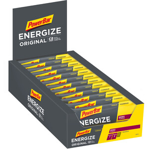PowerBar Energize Original Riegel Box 25 x 55g Beere