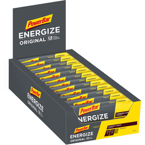 PowerBar Energize Original Riegel Box 25 x 55g Cookies & Cream