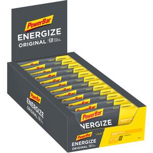 PowerBar Energize Original Riegel Box 25 x 55g Banane Punch