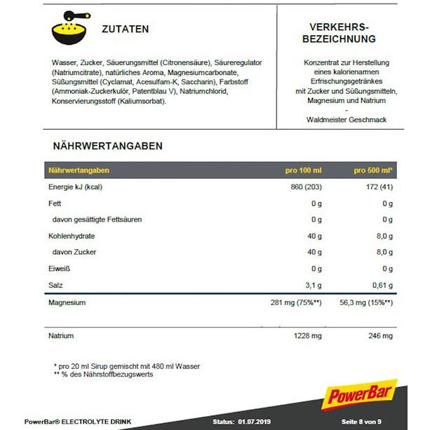 PowerBar Electrolyt Drink 1l Waldmeister