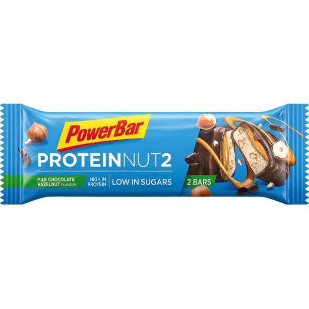 PowerBar Protein Nut 2 Bar Box 18x2x22,5g Milchschokolade Haselnuss