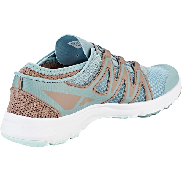 Salomon Crossamphibian Swift 2 Schuhe Damen lead/deep taupe/icy morn