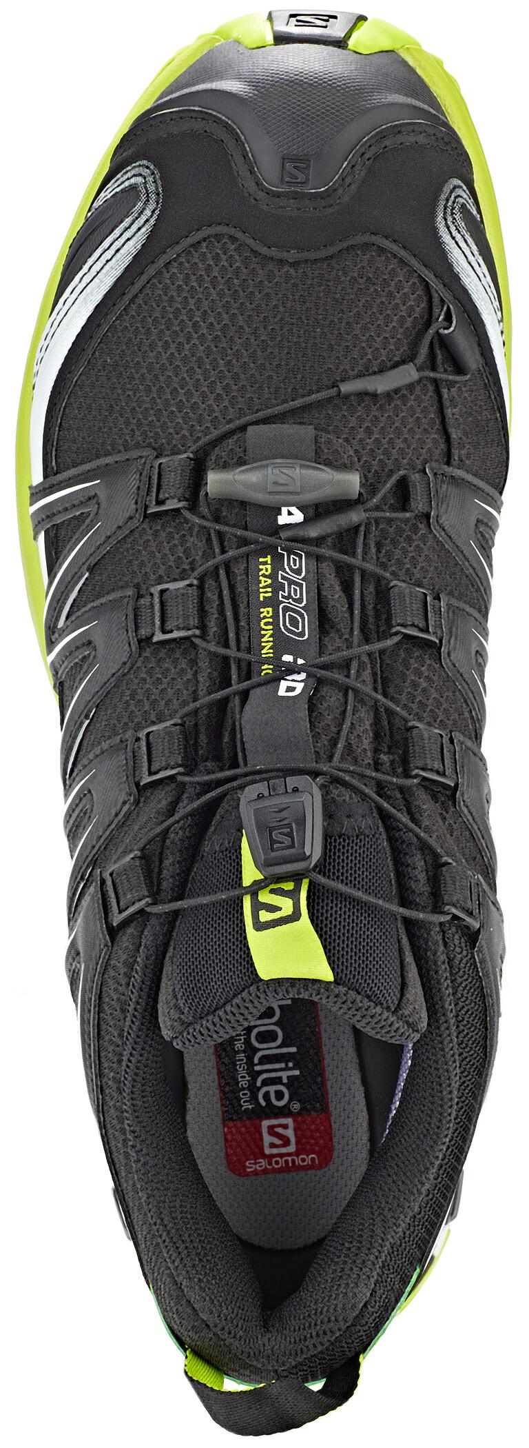 Salomon XA Pro 3D GTX Trailrunning Schuhe Herren blacklime greenwhite