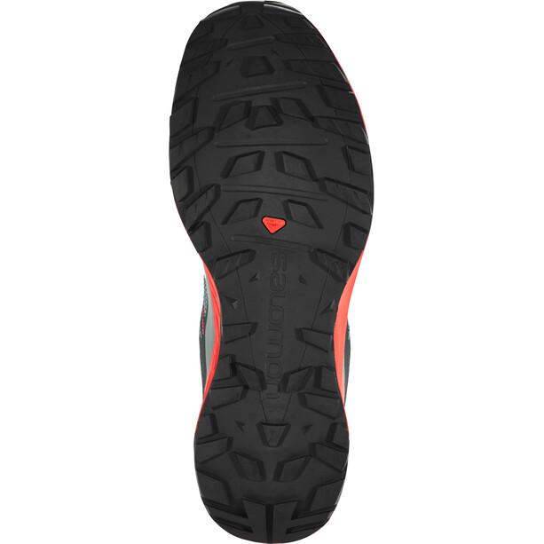 Salomon XA Discovery GTX Schuhe Herren stormy weather/high risk red/black