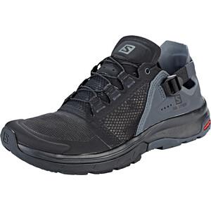 Salomon Techamphibian 4 Schuhe Damen black/ebony/quiet shade black/ebony/quiet shade