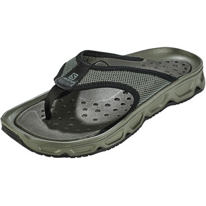 Salomon RX Break 4.0 Recovery Slides Herren castor gray/black/beluga castor gray/black/beluga