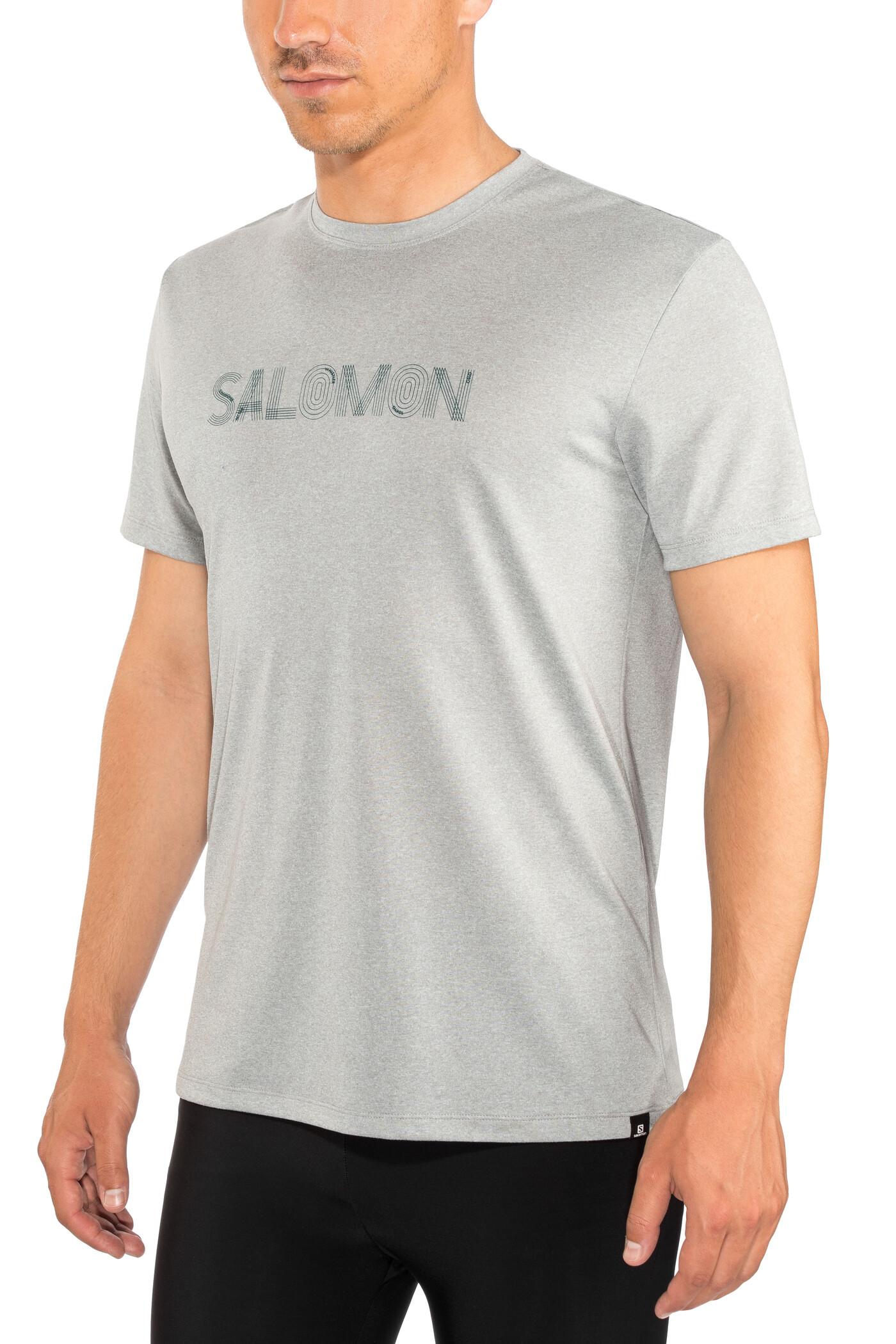 11 DEGREES PANEL BLOCK - T-shirts print - black/anthracite marl/white