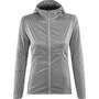 Salomon Elevate Aero Full-Zip Hoodie Damen flint stone/graphite