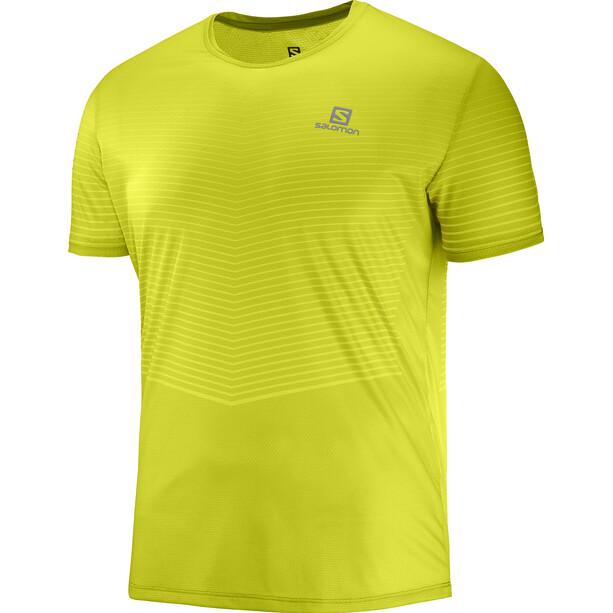 Salomon Sense T-Shirt Herren citronelle/sulphur spring