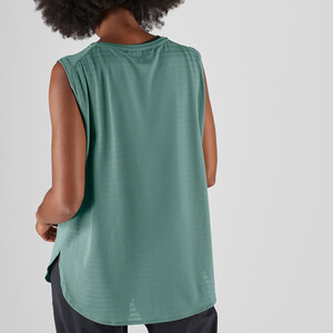 Salomon Comet Breeze Tank Top Damen balsam green balsam green