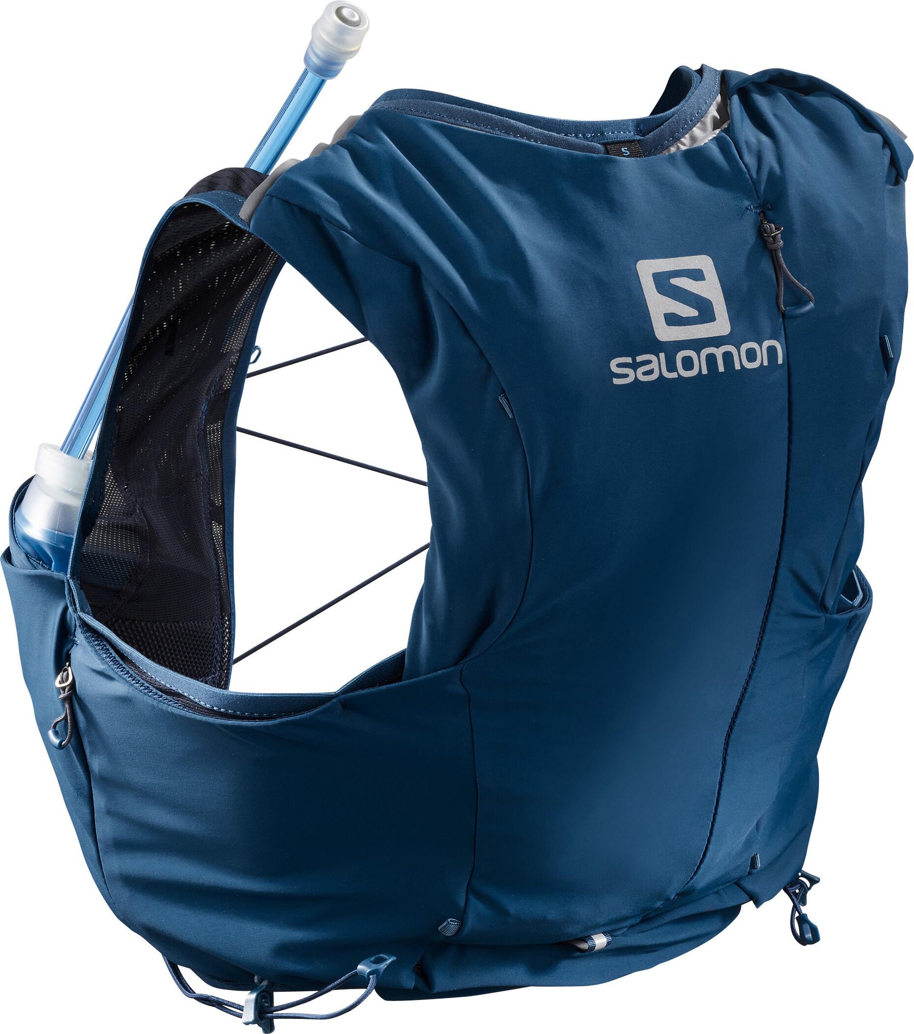 Salomon Adv Skin 8 Set Backpack Women poseidonnight sky