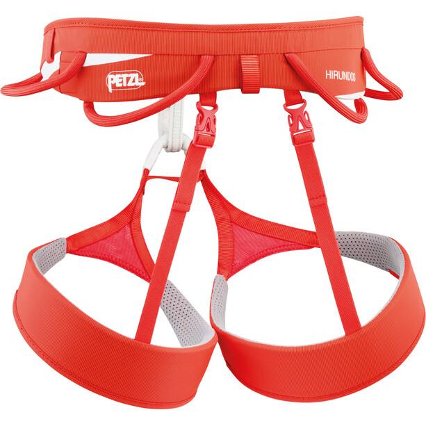 Petzl Hirundos Harness red