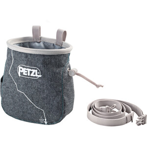Petzl Saka Chalk Bag grey grey