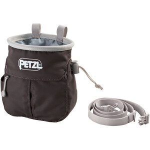 Petzl Sakapoche Chalk Bag grey grey