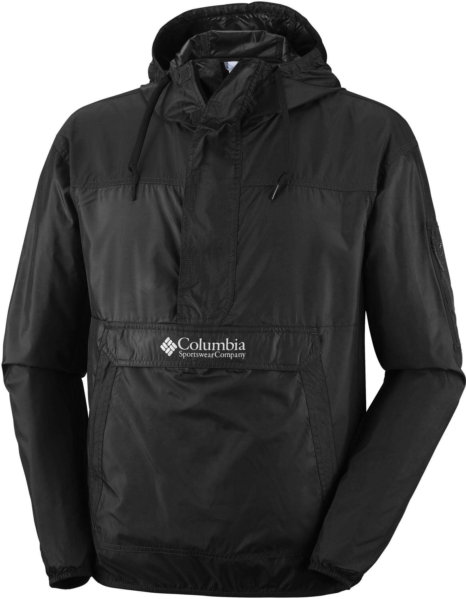 Columbia Challenger Windbreaker Jacke Herren black