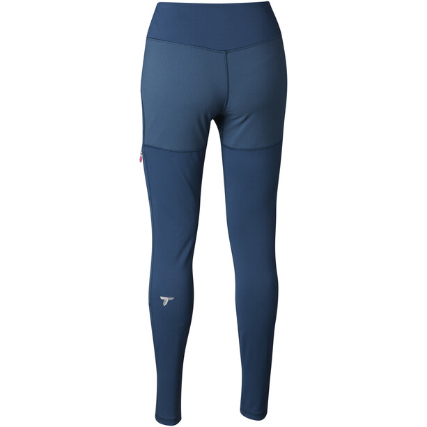 Columbia Titan Peak Trekking Leggings Damen petrol blue