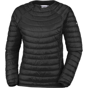 Columbia Powder Pass Pullover Damen black black