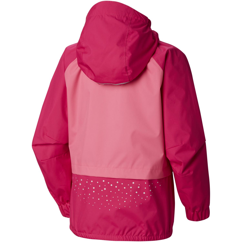 Columbia Splash S'more Regenjacke Mädchen haute pink/wild geranium/nocturnal