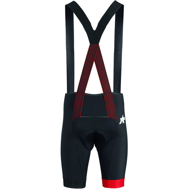 assos Equipe RS S9 Bib Shorts Herr national red