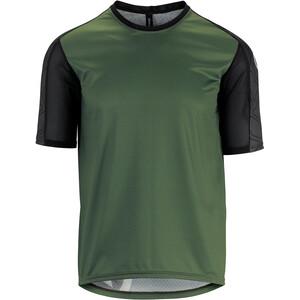 ASSOS Trail Maillot manches courtes Homme, vert/noir vert/noir